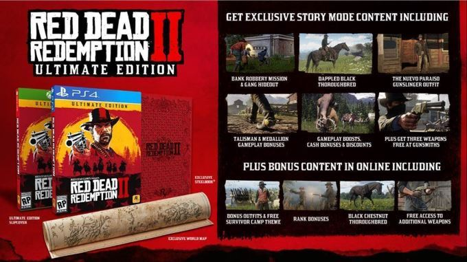 image ultimate edition red dead redemption 2