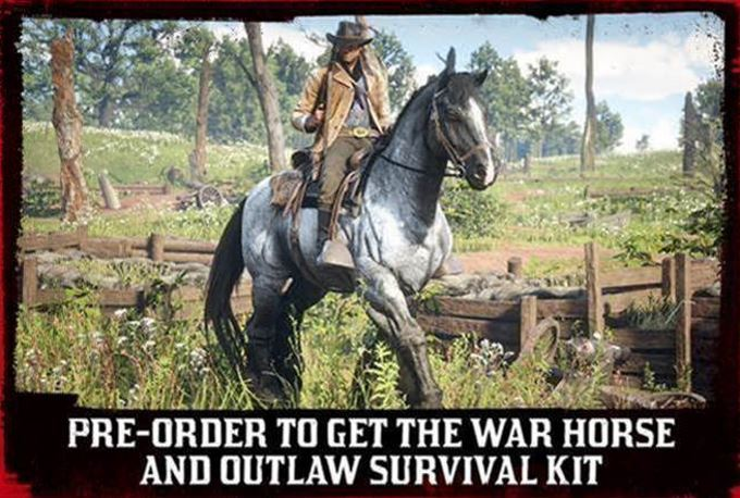 image war horse red dead redemption 2