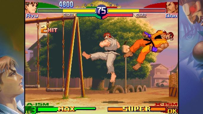 image gameplay street fighter 30th anniversary