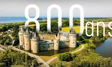 image gros plan 800 ans château de suscinio