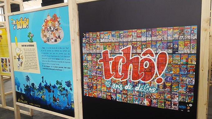 image exposition tchô magazine 23e rencontres de la bande-dessinée d'amiens
