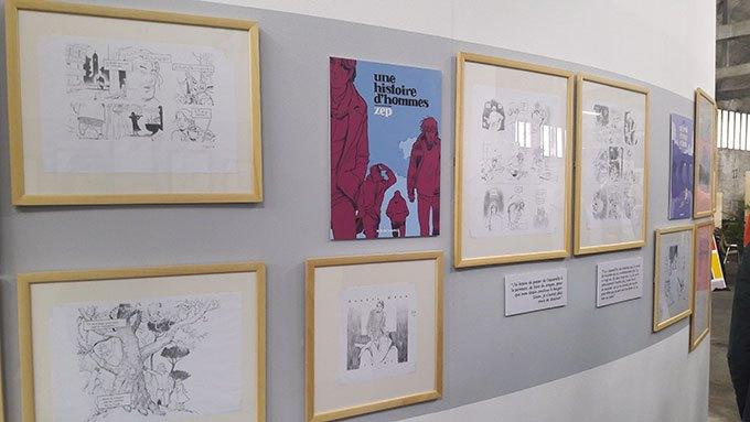 image albums réalistes exposition zep 23e rencontres de la bande-dessinée d'Amiens