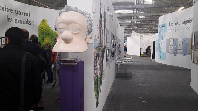 image tête distributeur pez exposition zep 23e rencontres de la bande-dessinée d'amiens