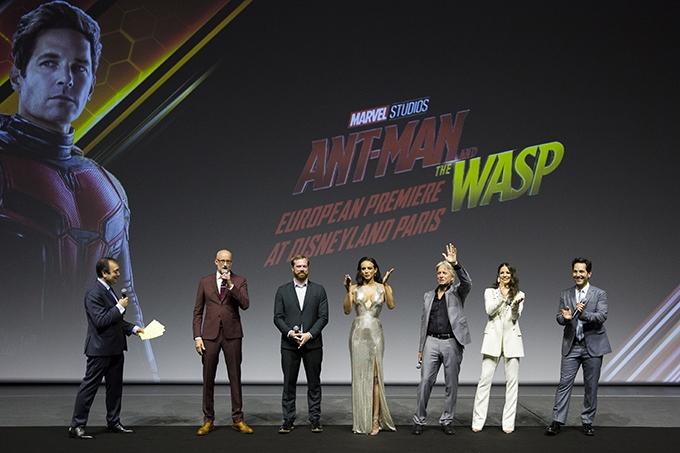 image cast ant-man et la guêpe avant-première européenne