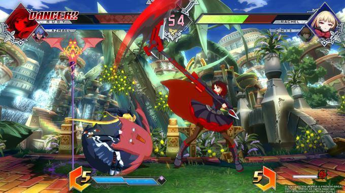 image jeu blazblue cross tag battle