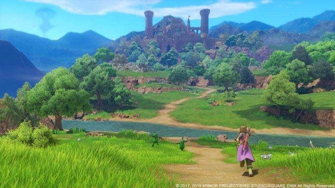 image screenshot dragon quest 11