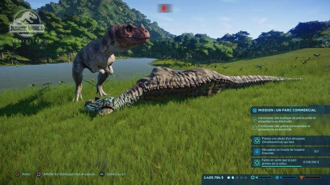 image jeu jurassic world evolution