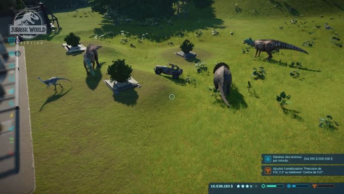 image playstation 4 jurassic world evolution