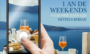 image gros plan visuel jeu concours instagram kyriad hotel