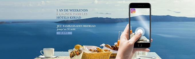 image bannière jeu-concours instagram kyriad hotels