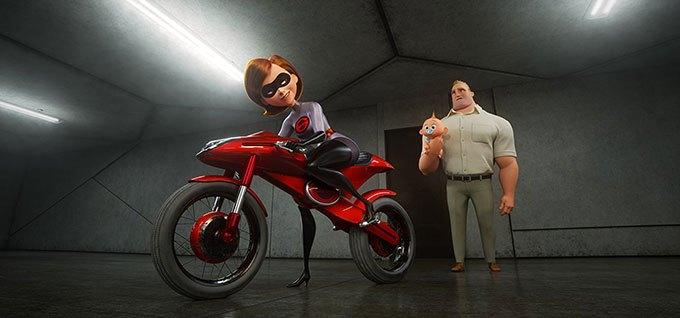 image elastigirl jack-jack bob les indestructibles 2 brad bird pixar