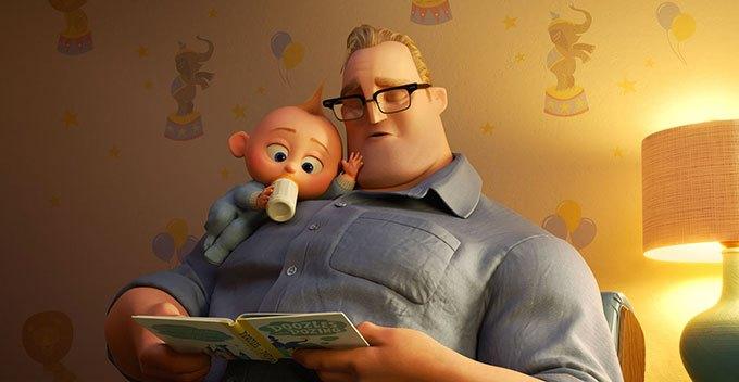 image jack-jack bob les indestructibles 2 brad bird pixar