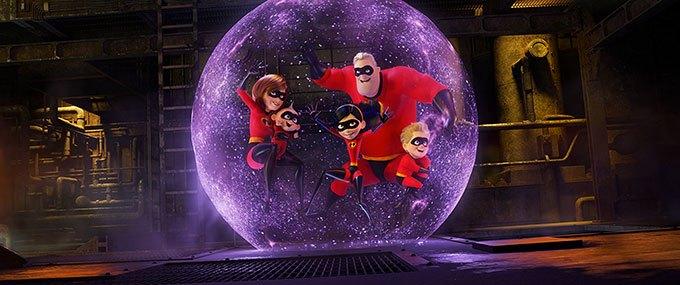 image elastigirl jack-jack violet bob bulle les indestructibles 2 brad bird pixar