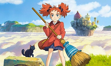 image gros plan affiche mary et la fleur de la sorcière hiromasa yonebayashi diaphana films