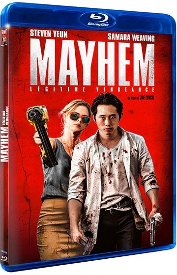 image boîtier blu-ray mayhem program store