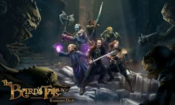 image artwork the bard's tale iv