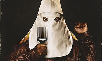 image gros plan affiche blackkklansman spike lee