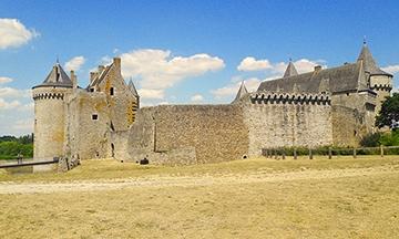 image gros plan château de suscinio été 2018