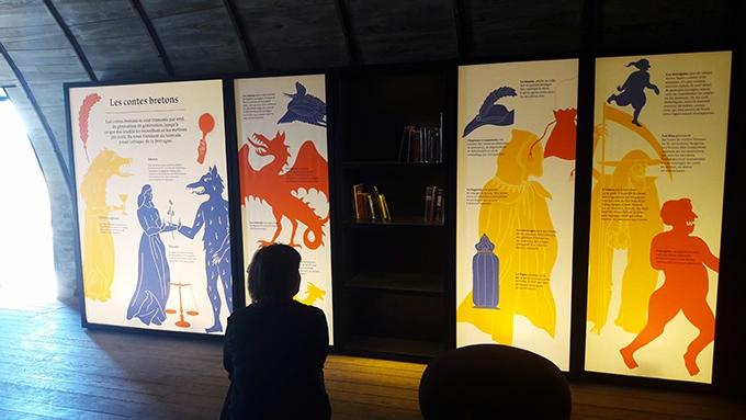 image salle des contes bretons château de suscinio