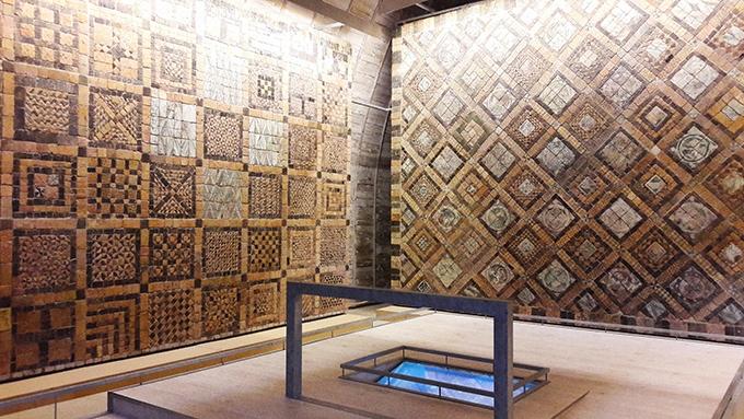 image salle des pavements château de suscinio