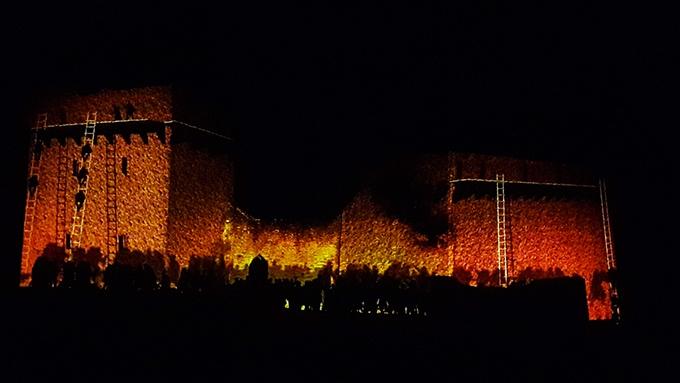 image domaine de suscinio spectacle nocturne été 2018