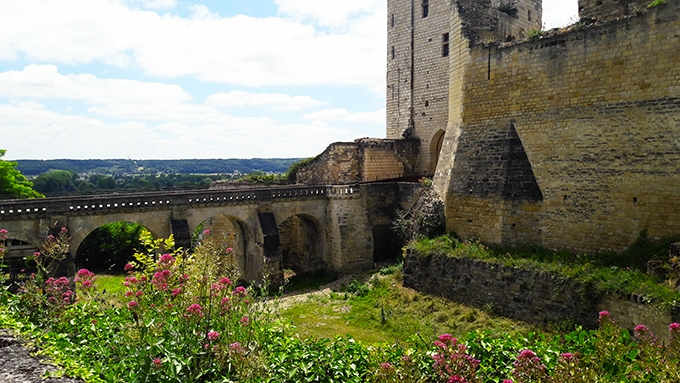 image pont fort du coudray forteresse royale de chinon