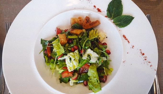 image salade estivale restaurant le safran miramar le cigale hôtel thalasso et spa