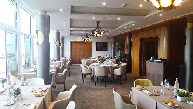 image salle restaurant le safran miramar la cigale hôtel arzon bretagne