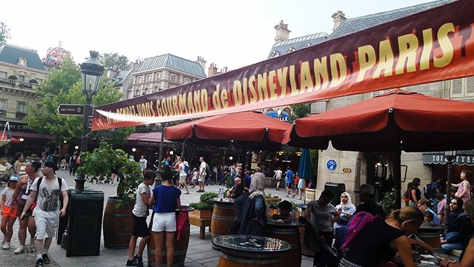 image banderole rendez-vous gourmand de disneyland paris 2018