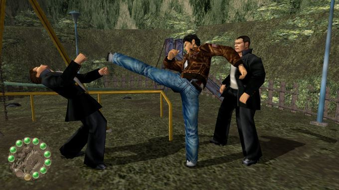 image combat shenmue