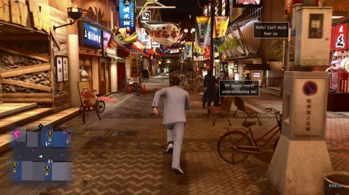 image gameplay yakuza kiwami 2