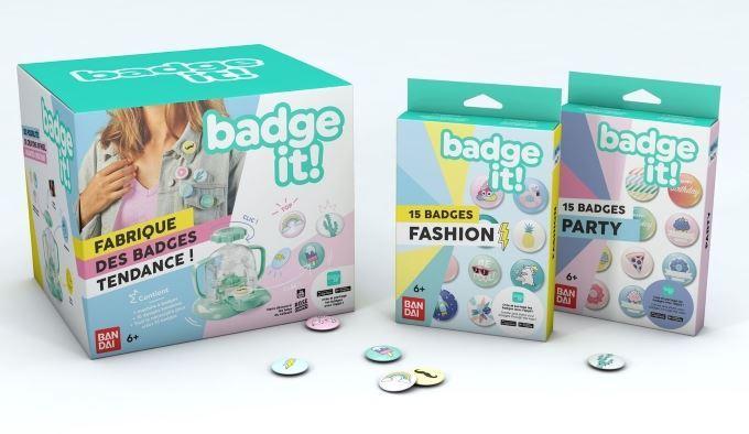 image bandai badge it