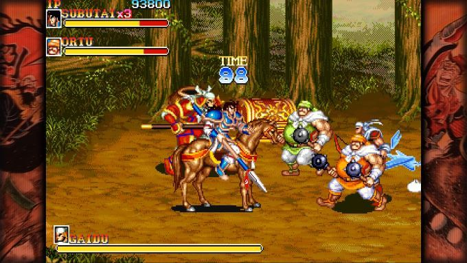 image jeu capcom beat'em up bundle