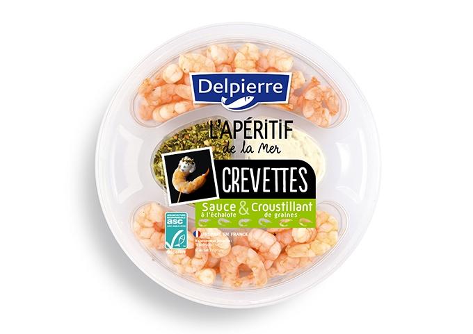 image plateau de crevettes double dip delpierre
