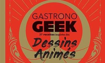 image gros plan couverture livre de cuisine gastronogeek dessins animés hachette heroes