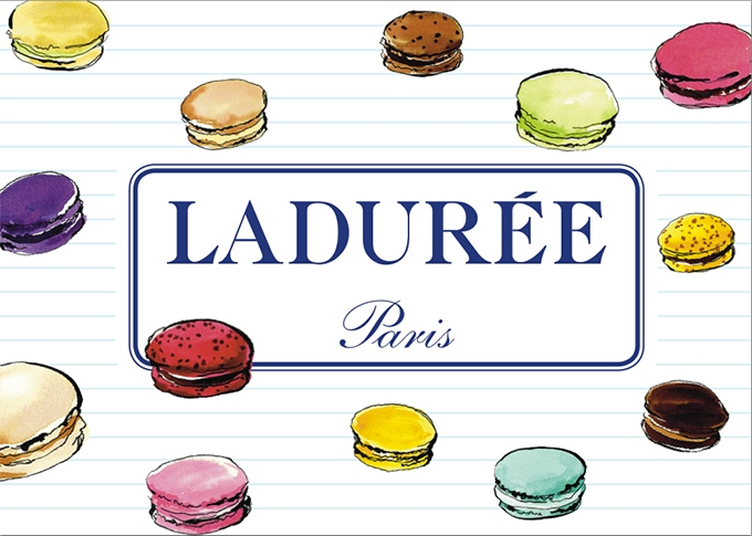 image affiche collection rentrée 2018 ladurée paris