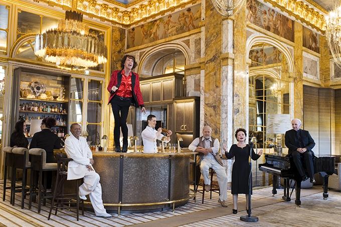 image statues grévin henri salvador mick jagger charles aznavour édith piaf bar les ambassadeurs les folles rencontres de l'hôtel de crillon emanuele scorcelletti polka galerie