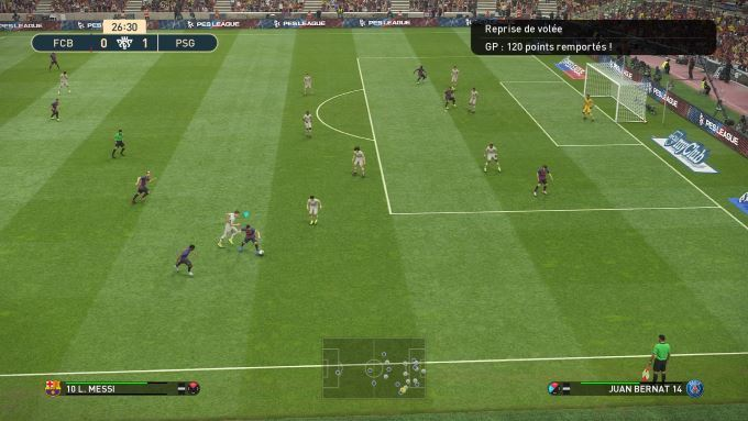 image gameplay pro evolution soccer 2019
