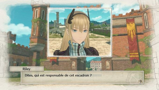 image jeu valkyria chronicles 4