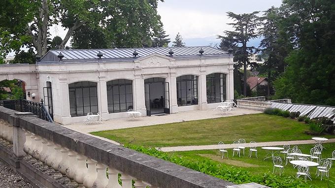 image jardins orangerie château de ferney-voltaire