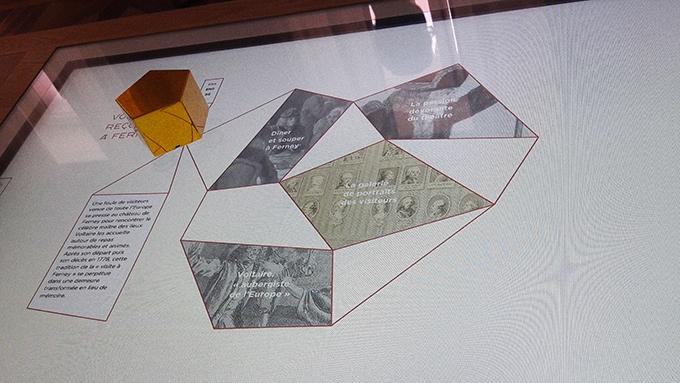 image tablette numérique château ferney-voltaire