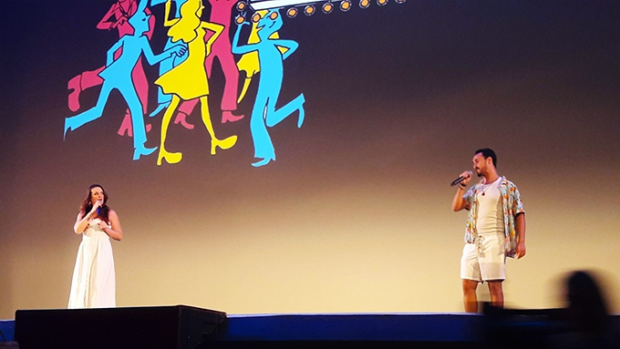 image raphaelle arnaud animations soirée l'écran pop mamma mia 24 juillet 2018