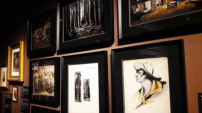 image section biographie tableaux photos de famille expo sergio leone cinémathèque française