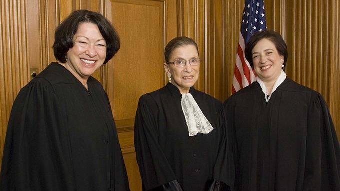 image trois femmes juges cour suprême ruth bader ginsburg rbg documentaire