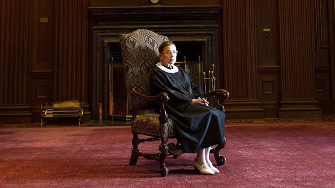 image fauteuil ruth bader ginsburg rbg documentaire