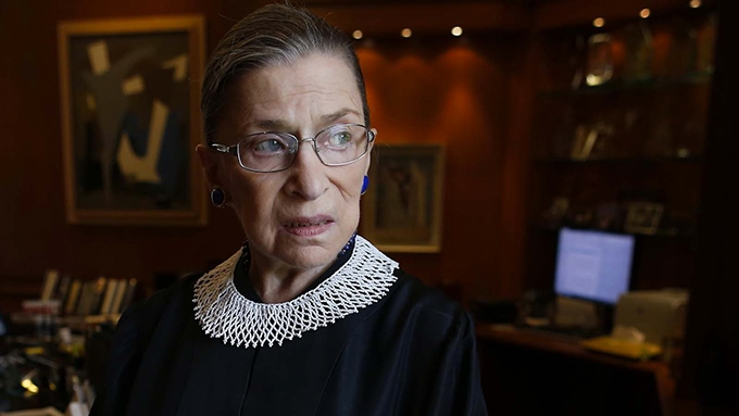 image portrait ruth bader ginsburg documentaire rbg