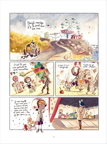 image planche 3 sacha et tomcrouz tome 2 anaïs halard bastien quignon éditions soleil