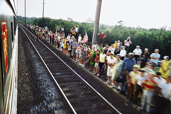 image rails the train june 8 1968 paul fusco
