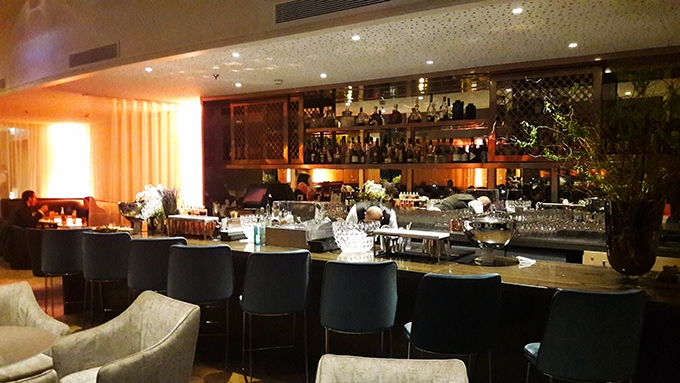 image comptoir bar windo hyatt regency paris étoile