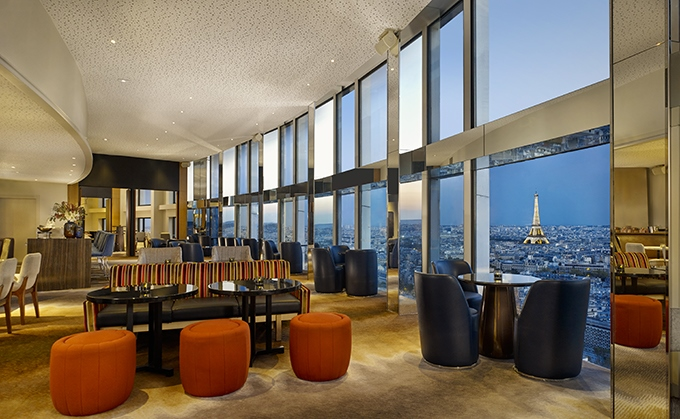 image salle bar windo hyatt regency paris étoile